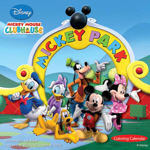 Disney Mickey Mouse - Clubhouse - Front