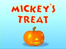 Mickey's Treat title card