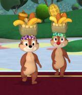 MinniesMasquerade-Chip 'n Dale Brazillian Dancers
