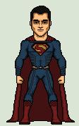 Superman henry cavill by stuart1001-d8maeqc