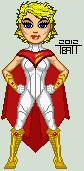 Micro new 52 power girl by everydaybattman-d4w5o0z