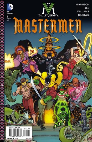 Multiversity Mastermen (2015) logo