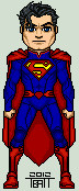 Micro new 52 superman by everydaybattman-d4pyis0
