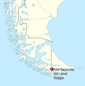 Localización Isla Redonda