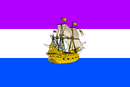 Bandera de Irudirea.Barco