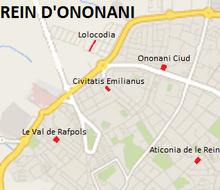 Mapa del Reino de Ononania