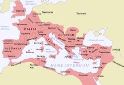 Mapa-romano