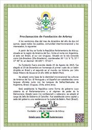 Fundación Oficial Arbruy