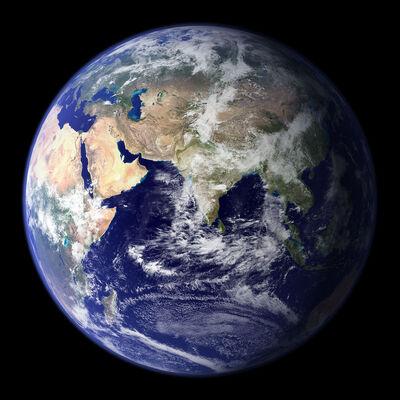 Globo-terraqueo-desde-el-espacio