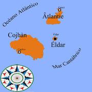 Mapa Auria