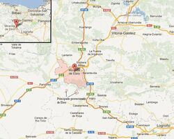 Ebro map