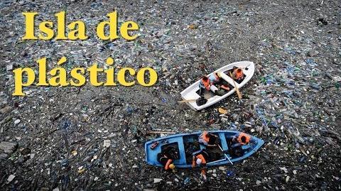 Los lugares más horribles del mundo Isla de Plástico