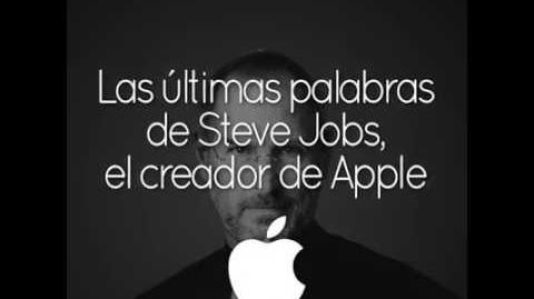 Las últimas palabras de Steve Jobs antes de partir