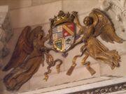 Escudo de la Casa Principesca de Laitec en frontis de palacio de Amberes
