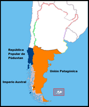 Mapa de la República Popular de Püdustan
