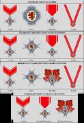 Insignias de la Orden