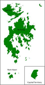 Map of Sinorean states