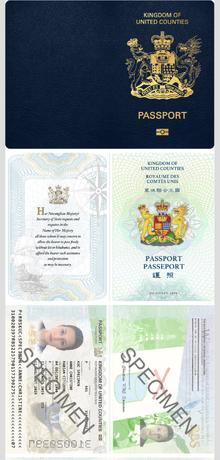 Passport Cover - ix