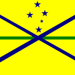 The Royal Cockatielian Marines Flag. Made in 2012.