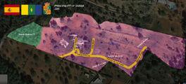 Map of sabina