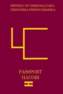 Chernoslovakian passport