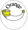 Orange Colony Badge