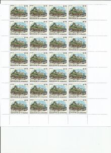 Ourania 2018 stamps