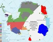 Antartica in micronations