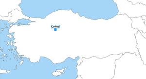 Vlasynia Map in Turkey Present
