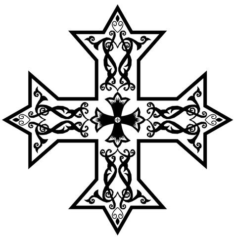 File:Coptic cross.png