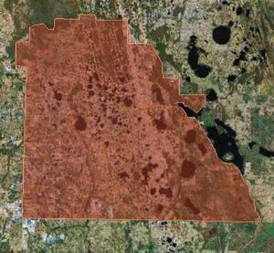Google Earth Map of Cockatiel Empire