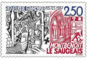 Stamp Saugeais 01