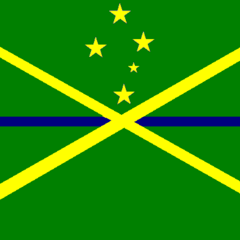 The Royal Cockatielian Navy Flag. Made in 2012.