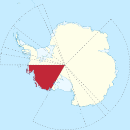 Marie Byrd Land in Antarctica