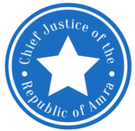 Amra Chief Justice seal