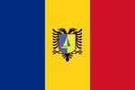 Kingdom of Romania in Saranda Flag