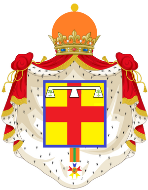 Coat of arms Delaney,Princess Imperial (PNG)