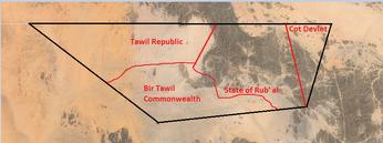 Districting of bir tawil
