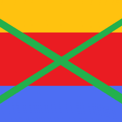 1st National Flag of the Cockatiel Empire