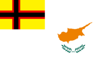 Torlandian territories in cyprus flag
