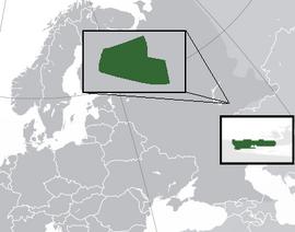 Карта Песчаной Глинки на карте мира