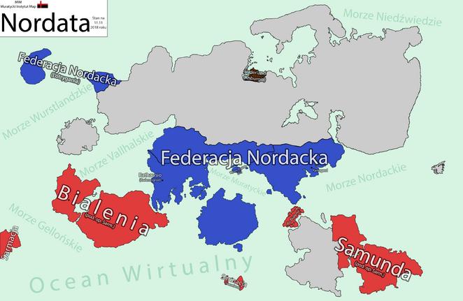 Mapa Nordaty - 11-11-2018