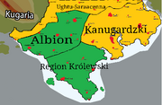 Mapa Egvalland