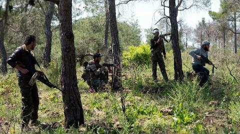 Heavy Fighting During The Battle On The Outskirts Of Al-Maliha Syria War 2014-1404048483