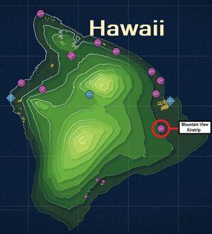 Mountain View Airstrip Map