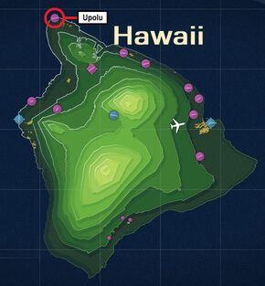 Upolu Airport Map