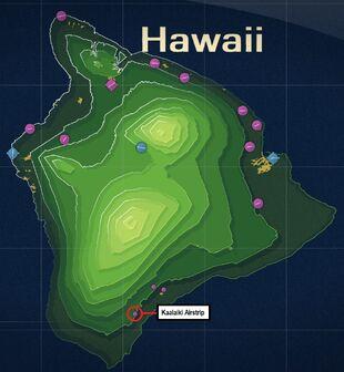 Kaalaiki Airstrip Map