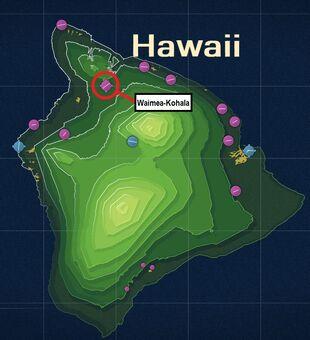 Waimea-Kohala Map