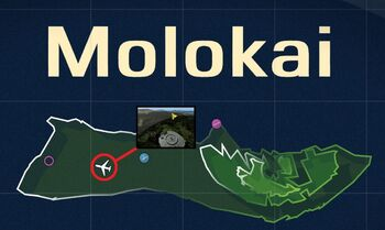 Molokai VORTAC Map