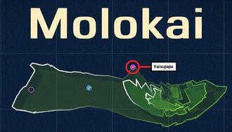 Kalaupapa Map